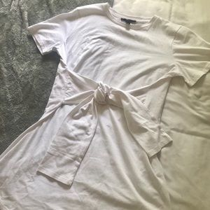 Forever 21 white T-shirt dress NEW